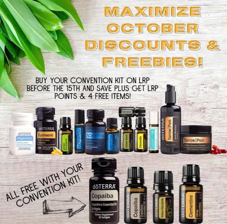 New doterra 2019 Global Convention Kit with bonus Copaiba offer