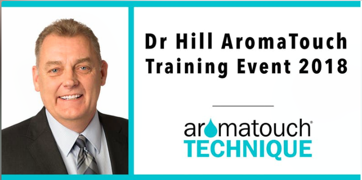 Dr Hill Melbourne Aromatouch training 29 November 2019