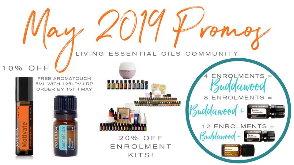 doterra Australia May 2019 Promotions